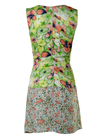 Floral Shift Dress - -Dresses- Tenner Store - 2