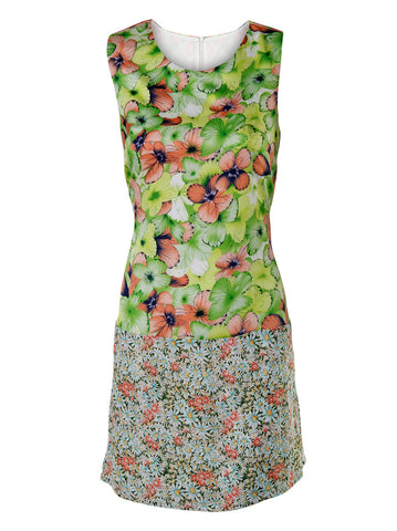 Floral Shift Dress - -Dresses- Tenner Store - 1