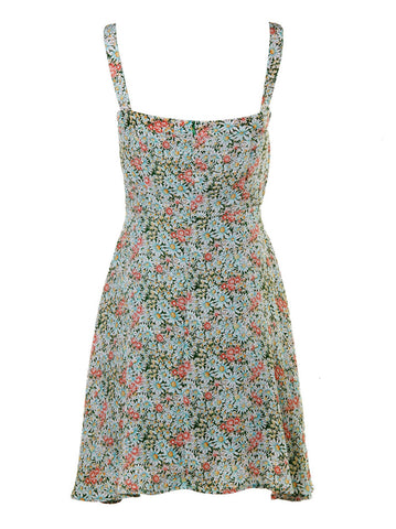 Sweet Heart Floral Print Dress
