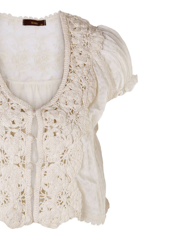 Floral Lace Jacket - -Jackets/Coats- Tenner Store - 3
