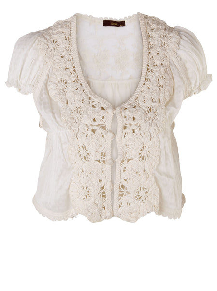 Floral Lace Jacket - -Jackets/Coats- Tenner Store - 1