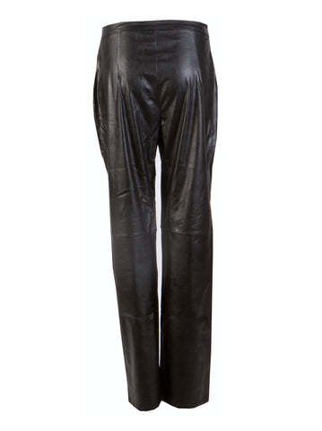 Leather Trousers - -Trousers- Tenner Store - 2