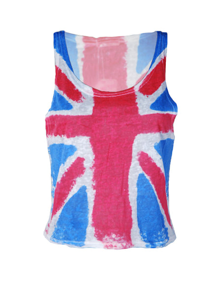 UK Crop Vest - -T-shirts and Vests- Tenner Store