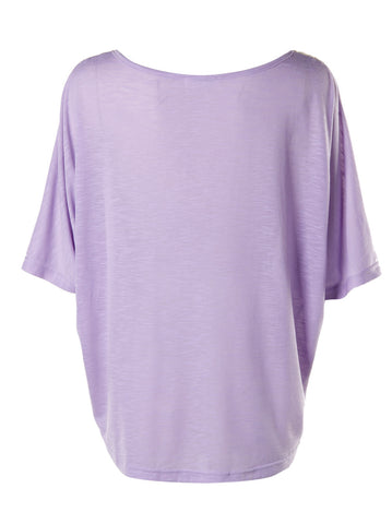 Purple Oversized Top