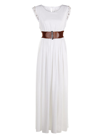 Maxi Dress With Embellishes