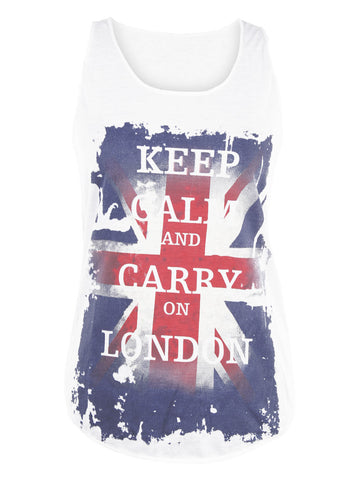 Keep Calm London Vest