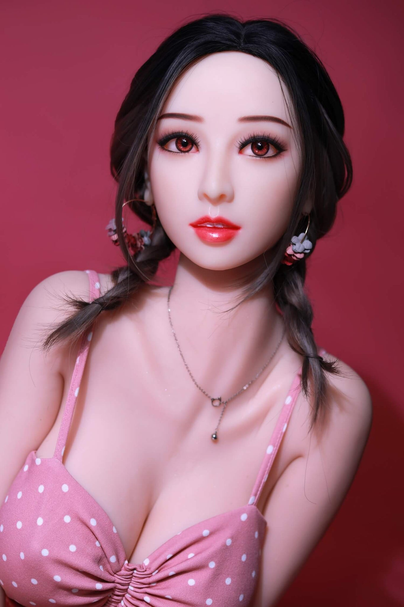 Amelia Pink Lady Sex Doll-Realistic Cheap Love Dolls for Sale