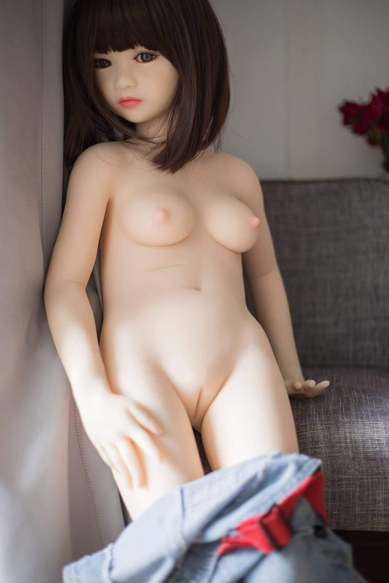 Vita Mini Sex doll  with Small Breasts