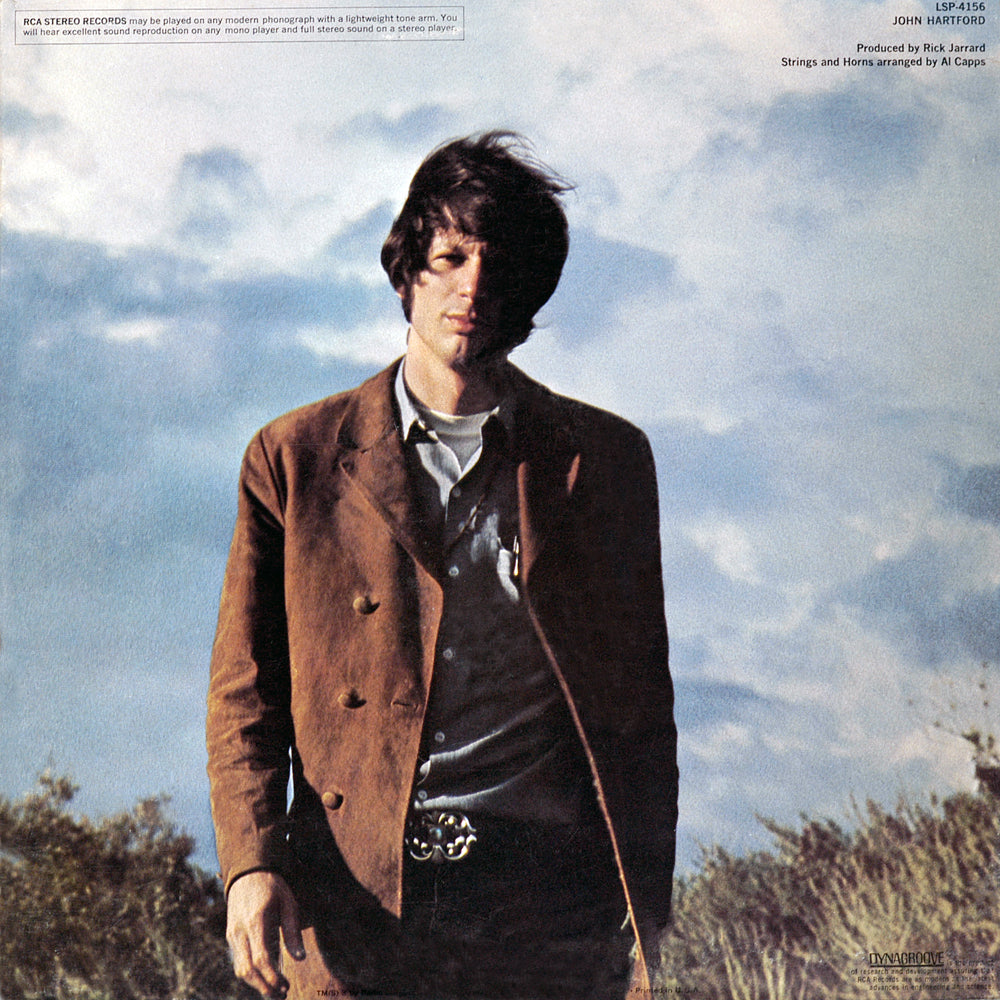 John Hartford - Album - Back Cover
