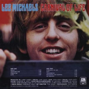 Lee Michaels - Carnival of Life - Back Cover
