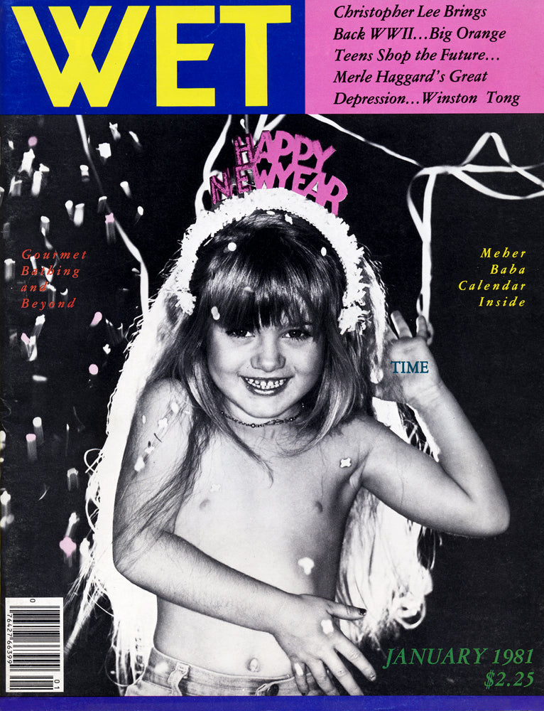 Cover of WET Magazine - January, 1981