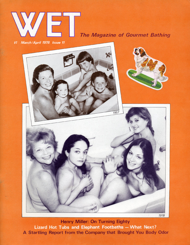 Cover of WET Magazine -March/April, 1978