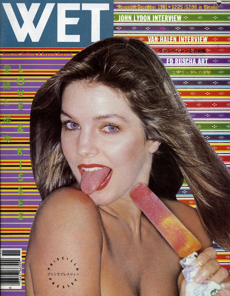 Cover of WET Magazine - November/December, 1981