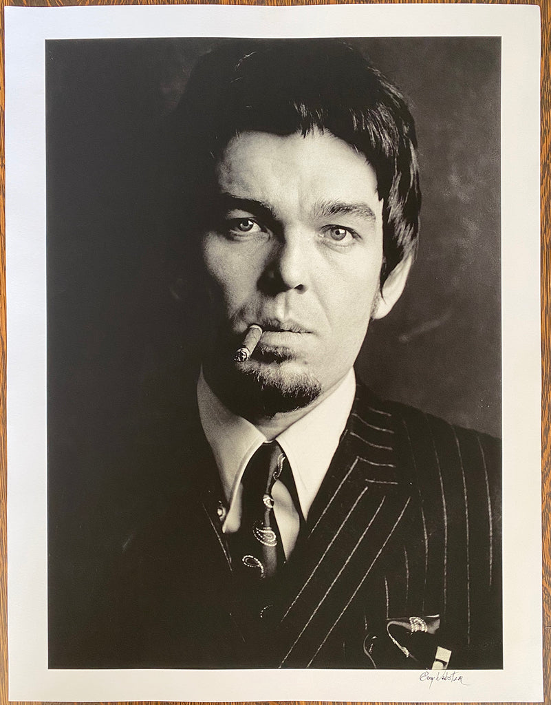 Don Van Vliet of Captain Beefheart - Signed Print