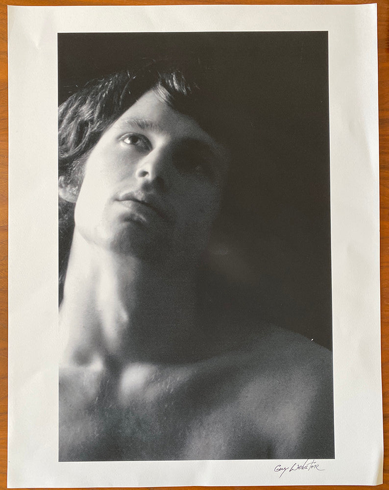 Jim Morrison of The Doors - Signed Print