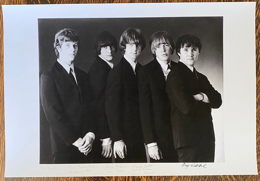 The Byrds - Signed Print