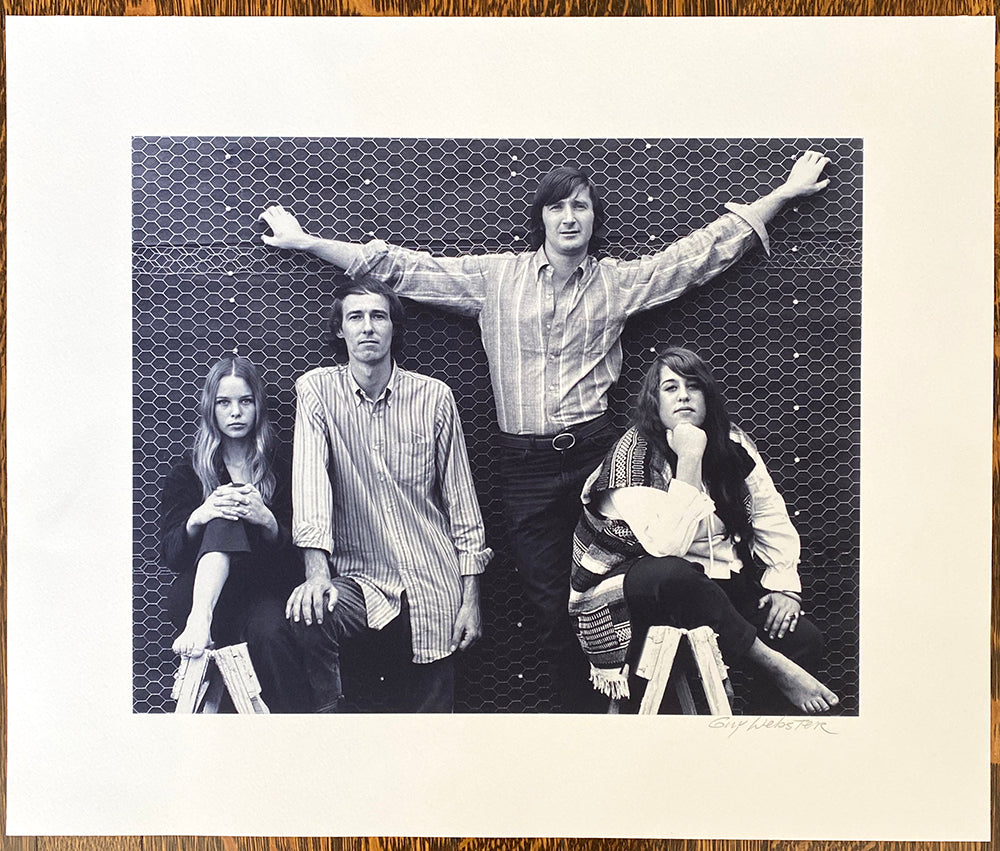 The Mamas And The Papas 02 - Signed Print