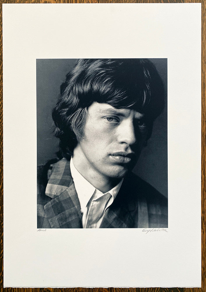 Mick Jagger of The Rolling Stones - Signed Print