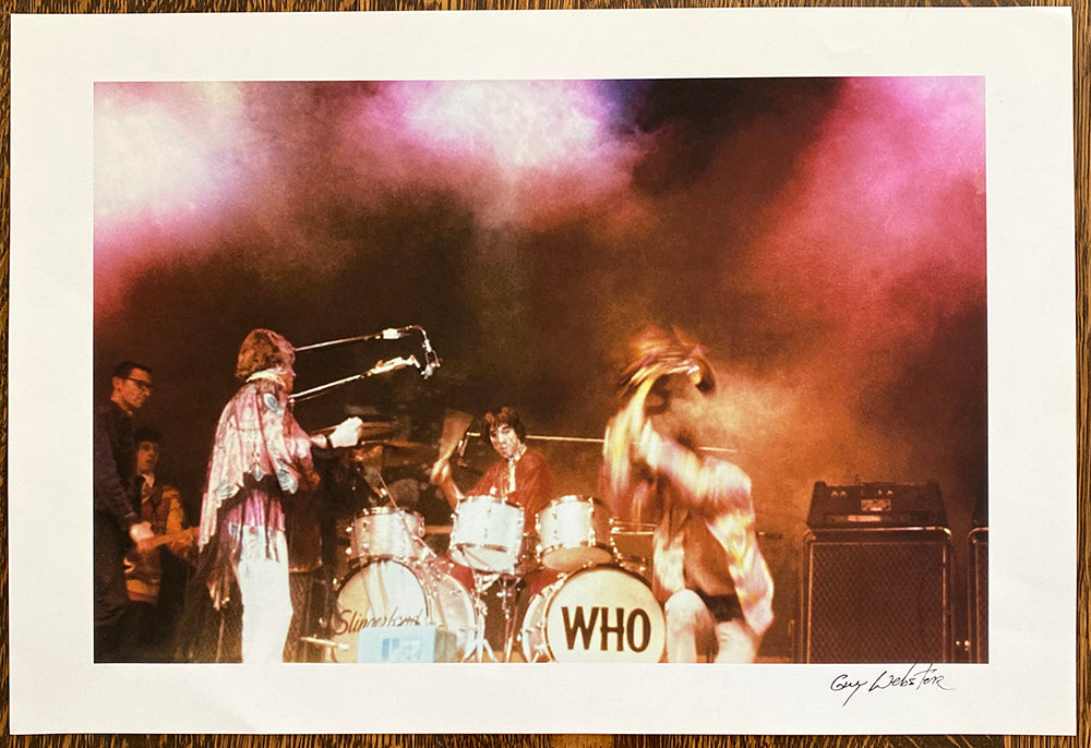 The Who - Signed Print