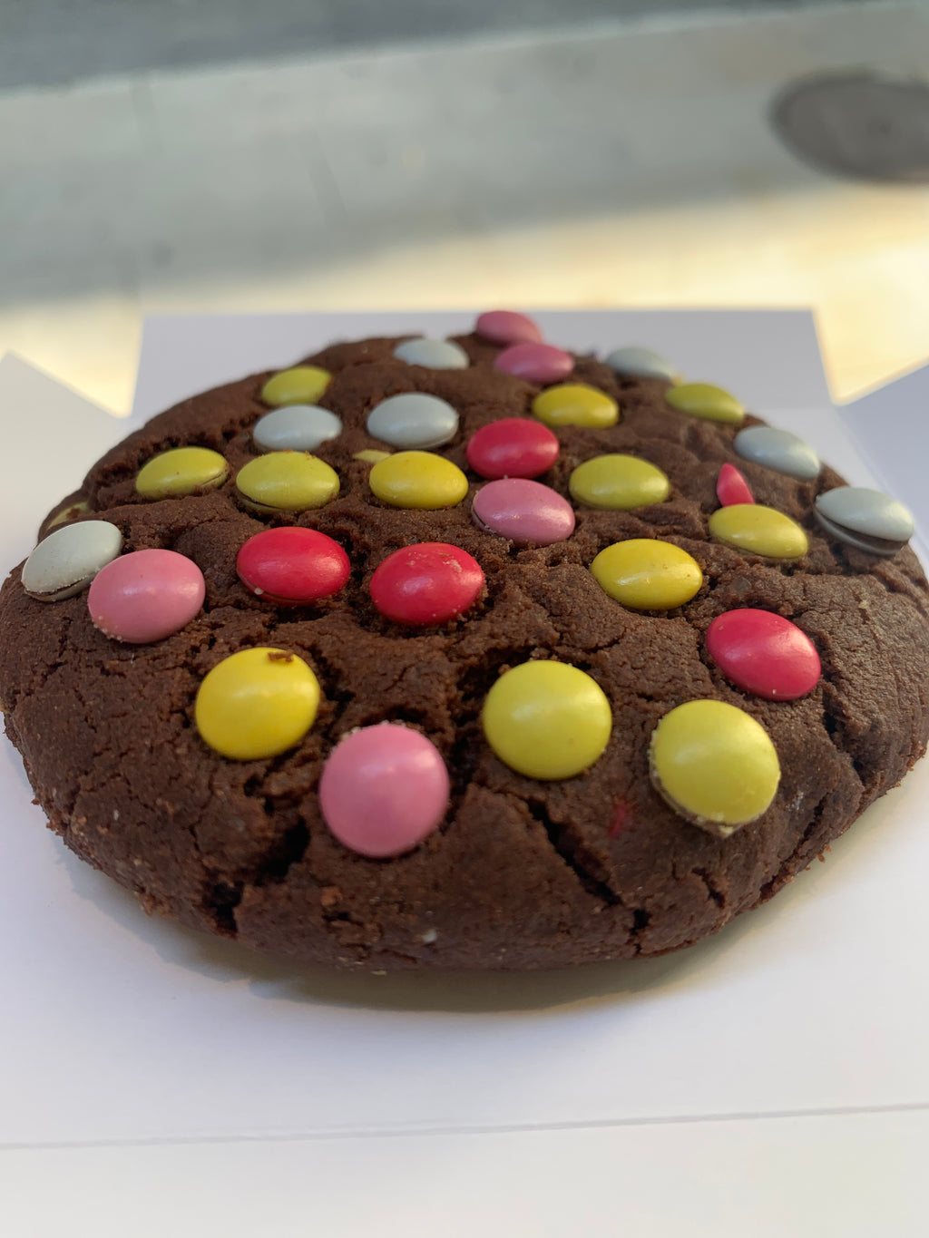 Smarties cookie