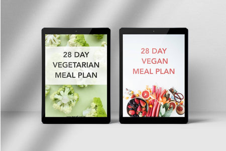 28 Day Clean Eating Meal Plan and Body Weight Exercise Book.