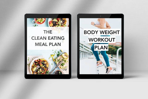 Teacaff 28 Day Detox Slim Program + Bonus Meal Plan and Exercise Guide