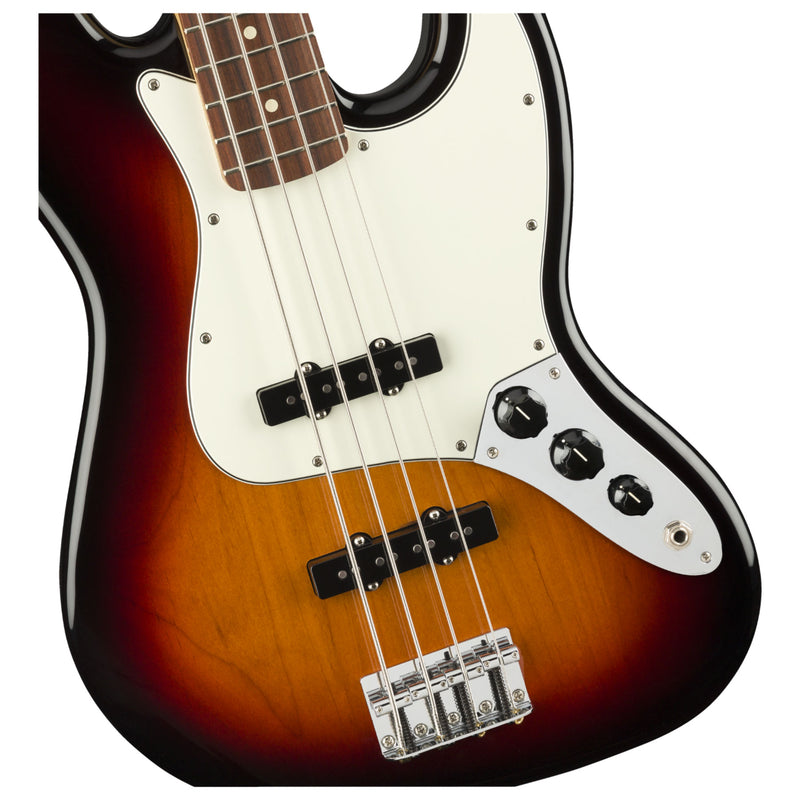 Fender Player Jazz Bass - 3-Colour Sunburst - Pau Ferro Fingerboard