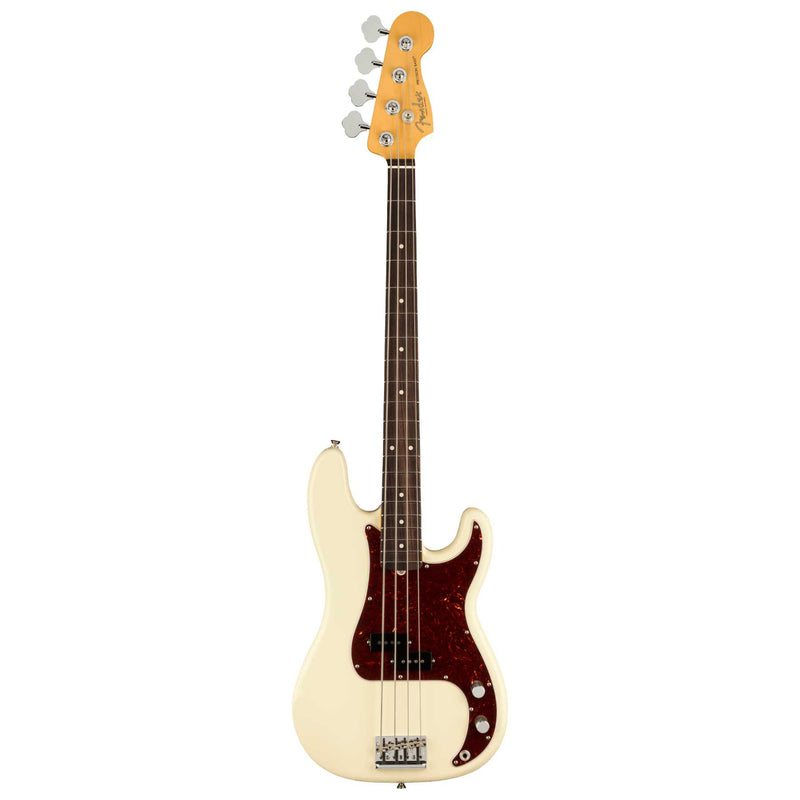 Fender American Professional II Precision Bass - Olympic White - Rosewood Fingerboard