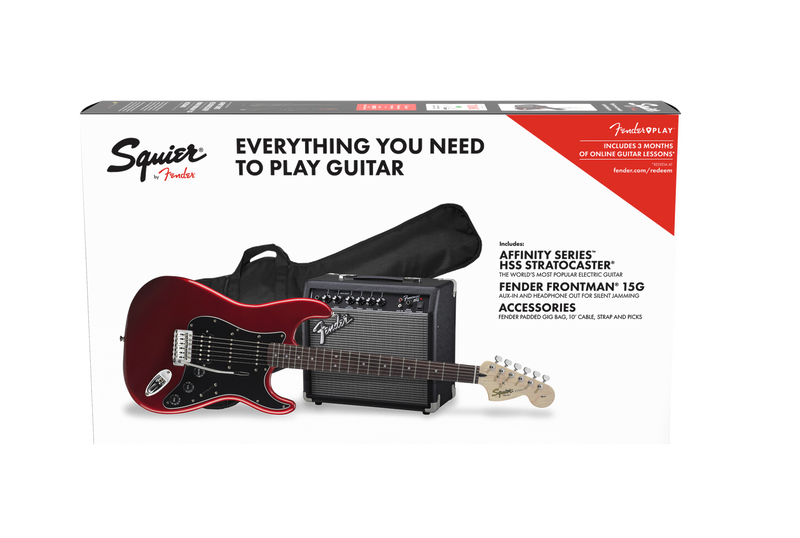 Affinity Series Stratocaster HSS Pack Candy Apple Red