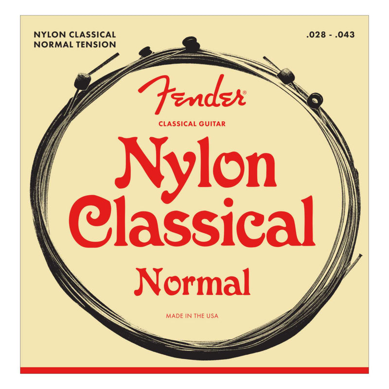 Nylon Acoustic Strings 130 Clear/Silver Ball End Gauges .028-.043