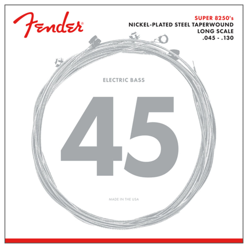 Fender 82505M Nickel Plated Steel Taperwound 5 String Bass Strings (45-130)