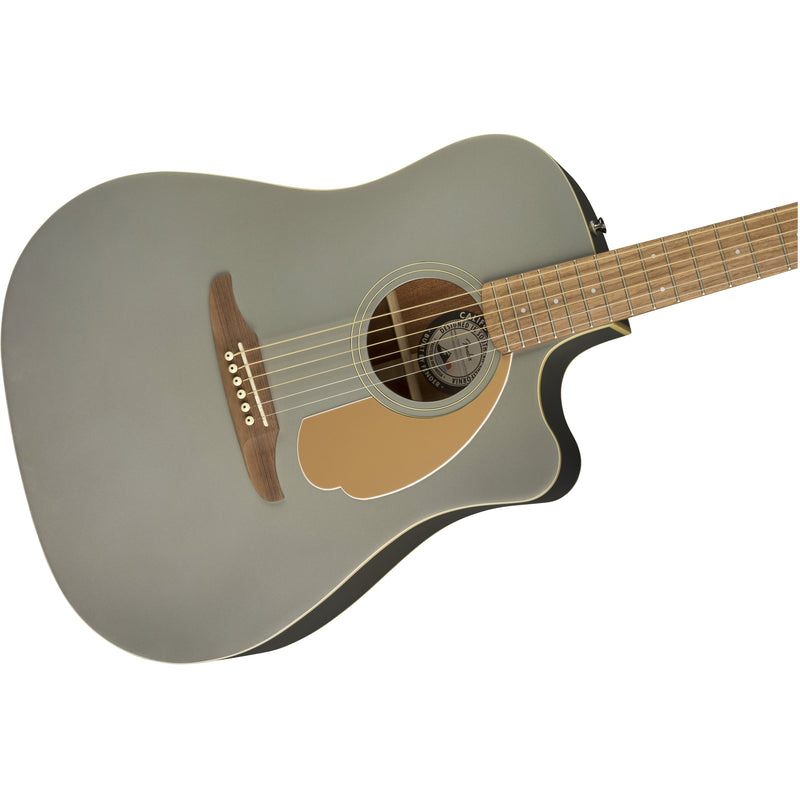 Fender Redondo Player Acoustic Guitar Slate Satin Finish