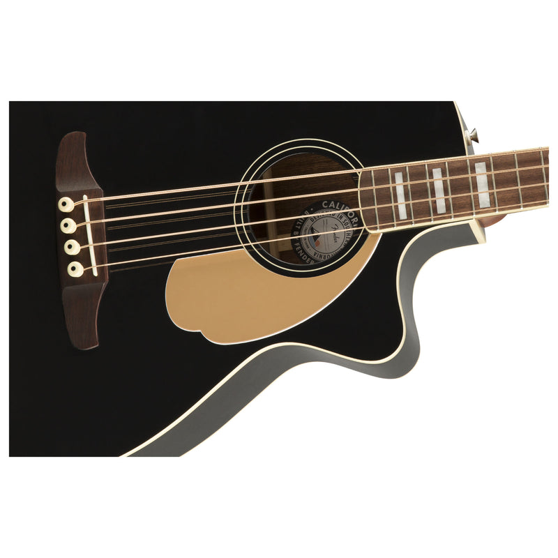 Fender Kingman Acoustic Bass - Black