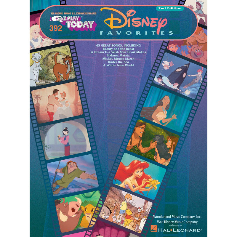 Disney Favorites E-Z Play Today Volume 392