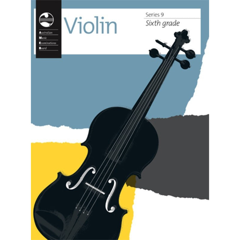 AMEB Violin Series 9 - Sixth Grade