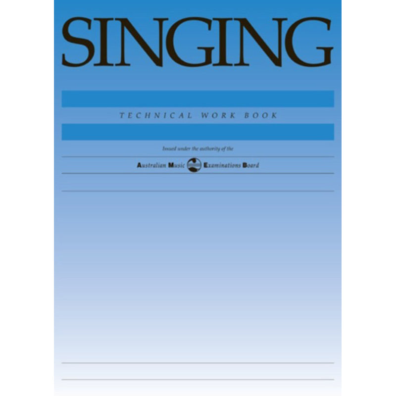 AMEB Singing Technical Work Book 1998