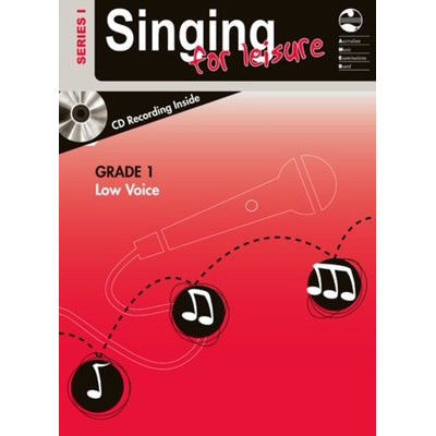 Singing For Leisure Series 1 - Grade 1 Low Voice