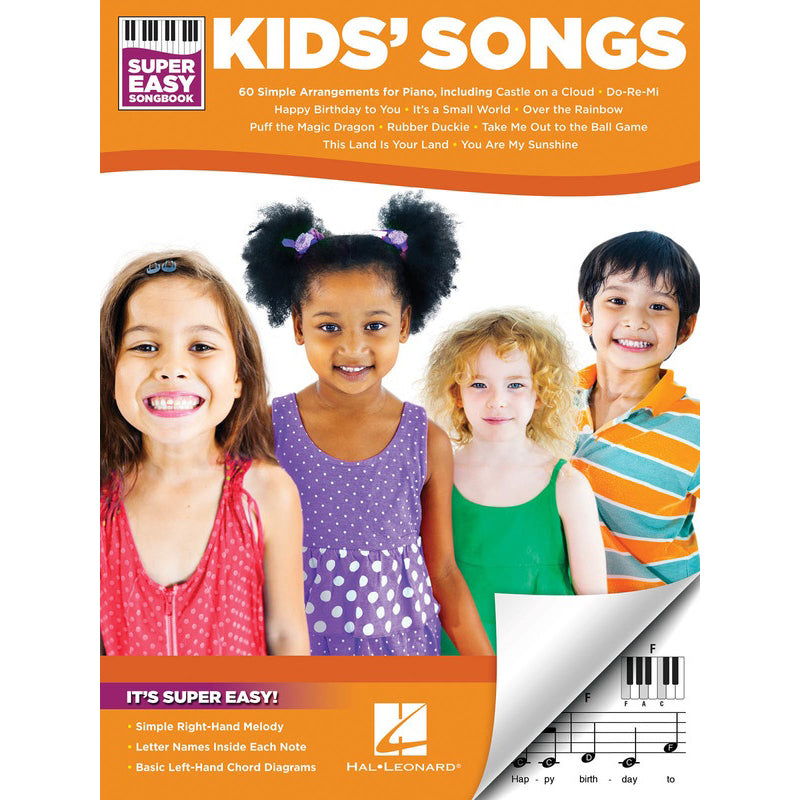 Kids' Songs - Super Easy Songbook