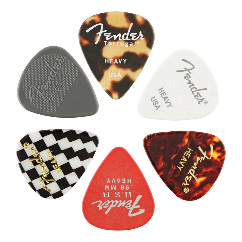 PICKS - 351 MATERIAL MEDLEY HEAVY 6-PACK