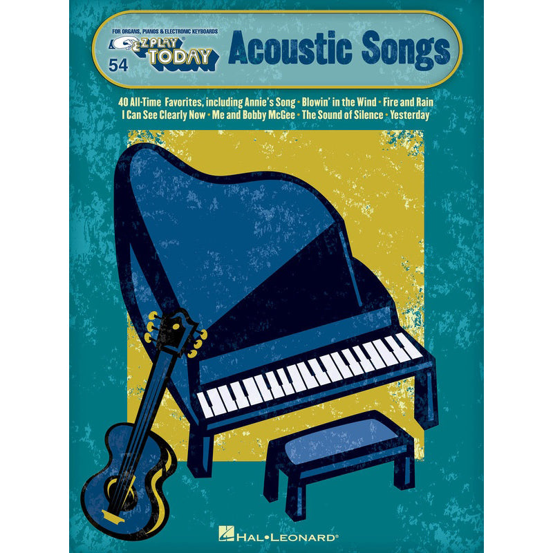 Acoustic Songs E-Z Play Today