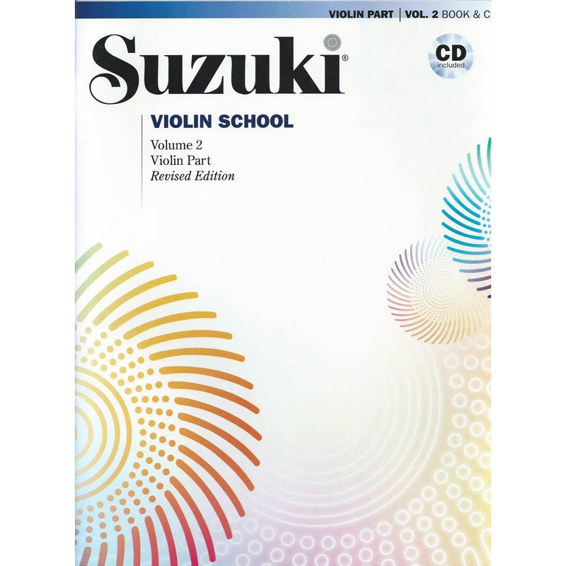 Suzuki Violin School Violin Book & CD, Volume 2