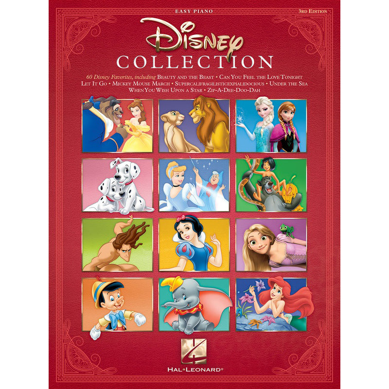 The Disney Collection - 3rd Edition Easy Piano