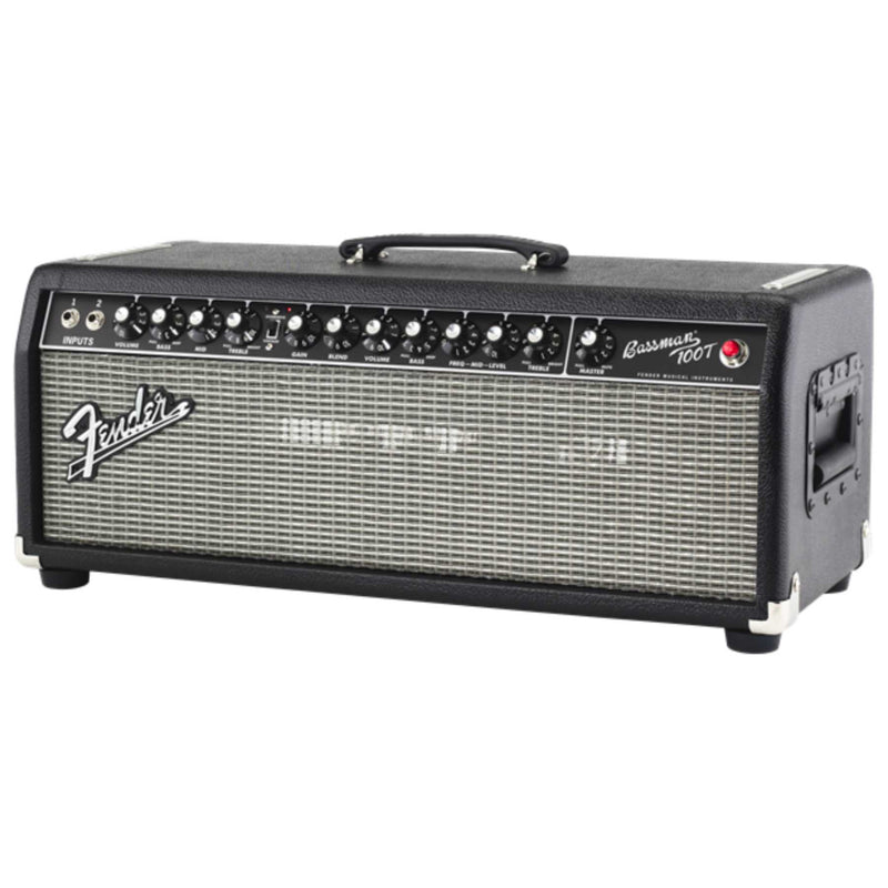 Fender Bassman 100T Bass Amp Head - Black