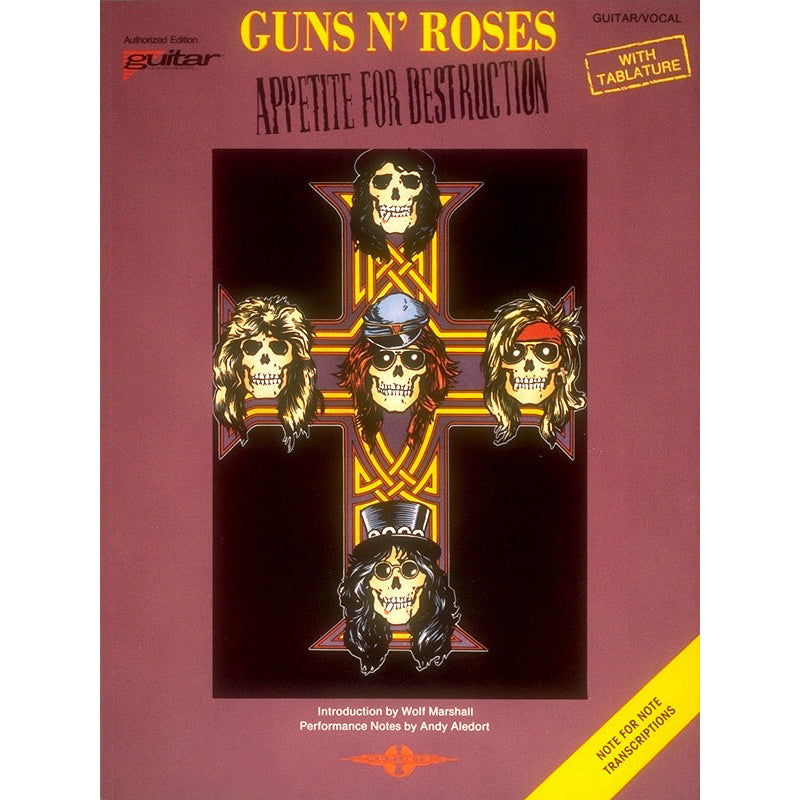 Guns N' Roses - Appetite for Destruction Guitar TAB