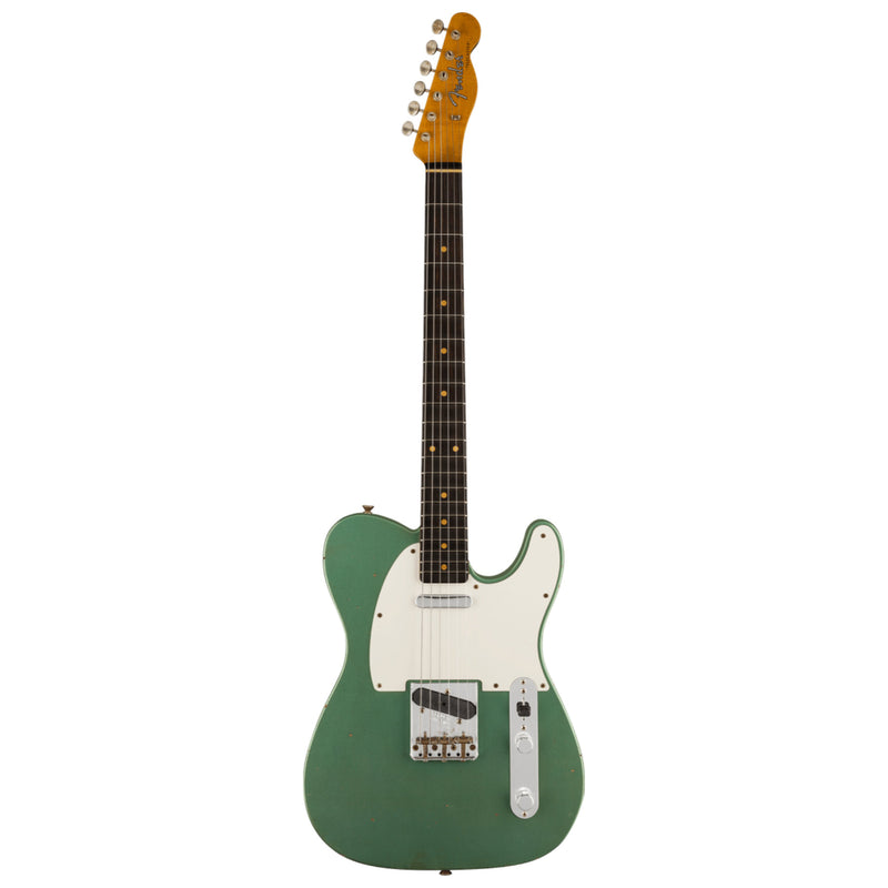 Fender Custom Shop Limited Edition '60 Telecaster Journeyman Relic - Faded Aged Sherwood Green Metallic