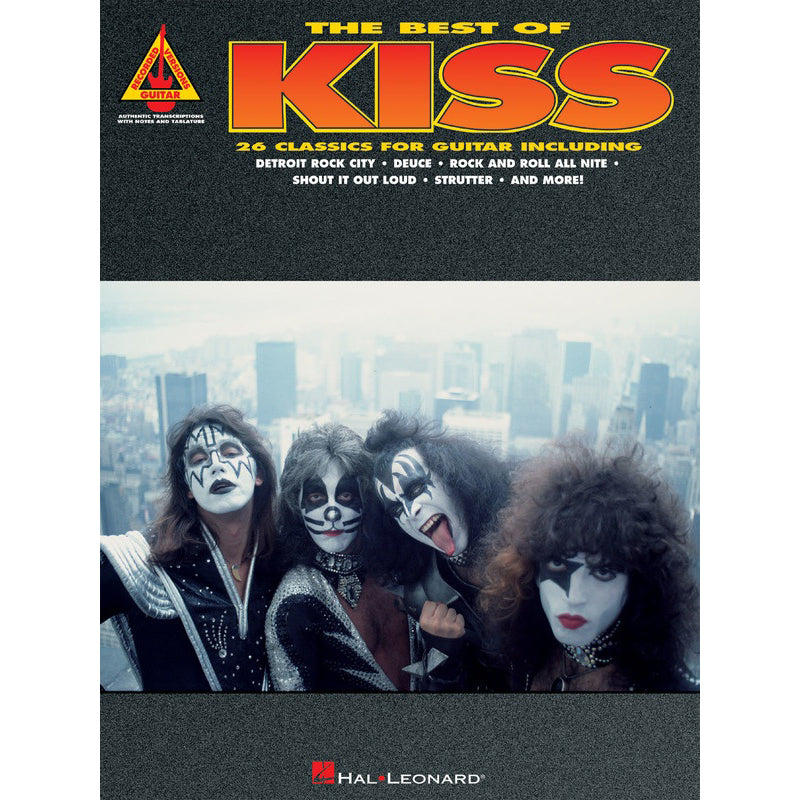 The Best of Kiss Guitar TAB