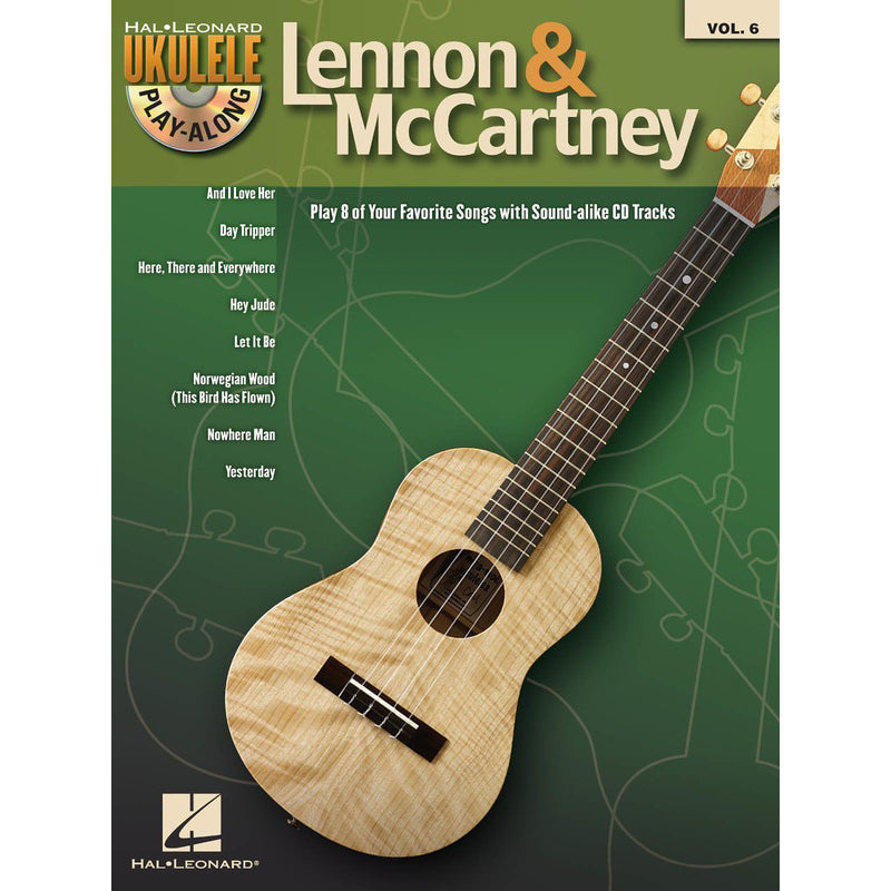 Lennon & McCartney Ukulele Play-Along Volume 6