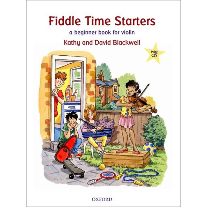 Fiddle Time Starters + CD, new edition