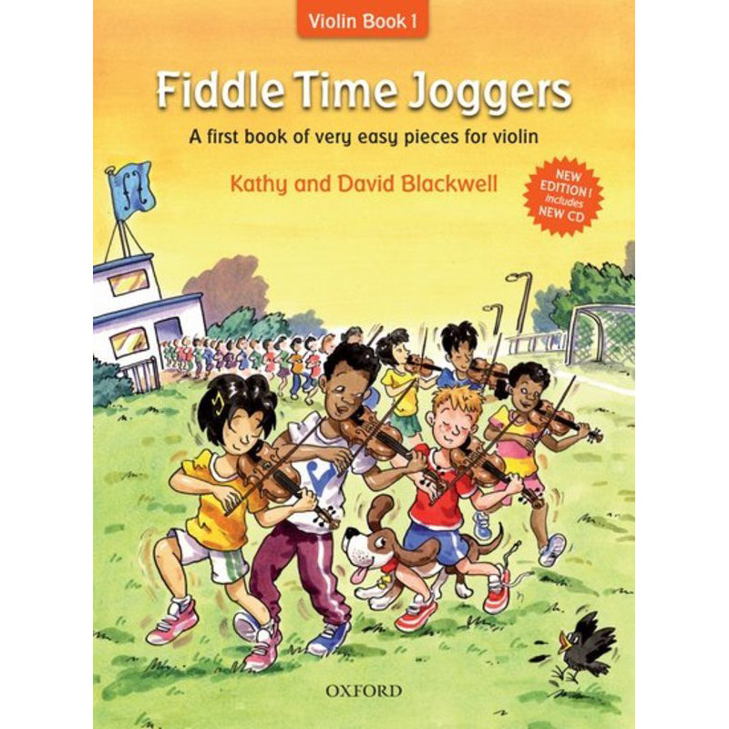 Fiddle Time Joggers + CD, revised edition