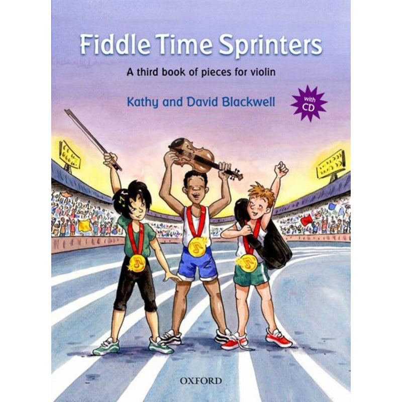Fiddle Time Sprinters + CD, revised edition